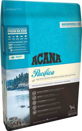 Acana Pacifica Dog halban gazdag gabonamentes kutyatáp
