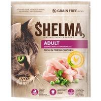 Shelma Adult friss csirkehúsból készült száraz macskaeledel