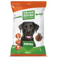 Boney Dental Sticks Delta - Alacsony zsírtartalmú rágórudak kutyáknak