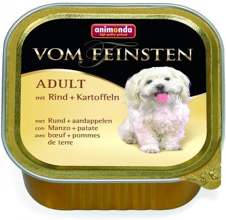 Animonda Vom Feinsten Adult – Marhahúsos és burgonyás kutyaeledel