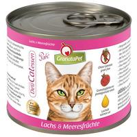 GranataPet DeliCatEssen lazacos és tenger gyümölcseis konzerv macskáknak