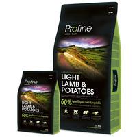 Profine Light Lamb & Potatoes | Diétás kutyatáp bárányhússal és burgonyával | Gabonamentes