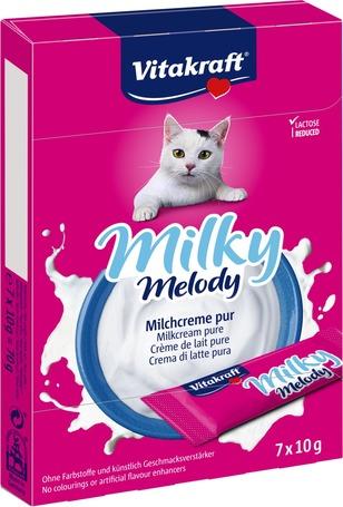 Vitakraft Milky Melody tejszínes jutalomfalat taurinnal macskáknak