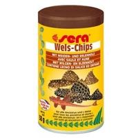 Sera Wels-Chips díszhaltáp