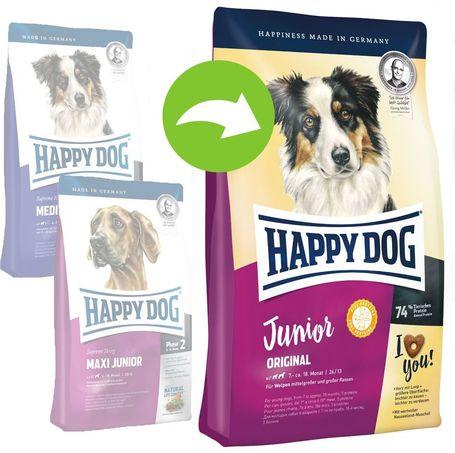 Happy Dog Junior Original (Új)