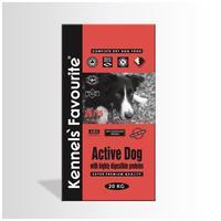 Kennels' Favourite Active Dog   Táp hiperaktív felnőtt kutyáknak