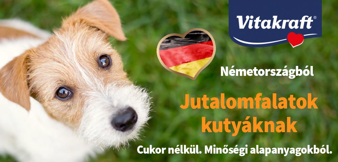 Vitakraft jutalomfalatok kutyáknak Németországból
