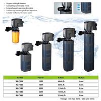 Xilong XL-F powerfejes akváriumi belső szűrők