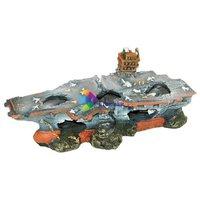 Anyahajó-roncs akvárium dekoráció