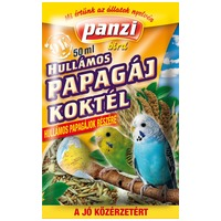 Panzi hullámos papagáj koktél