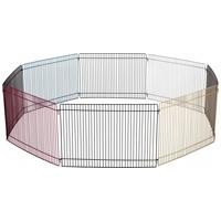 Trixie 8 elemes színes fém kifutó kisállatoknak beltérre