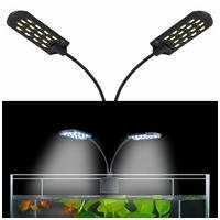 X7 LED fehér fényű kecses iker világítótestek akváriumokhoz