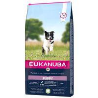 Eukanuba Puppy Small & Medium Lamb & Rice | Kölyöktáp bárányhússal és rizzsel | Érzékeny gyomrú kölyköknek