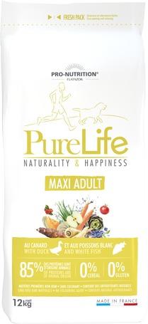 Flatazor Pure Life Maxi Adult hipoallergén eledel tápértékeny felnőtt kutyák részére