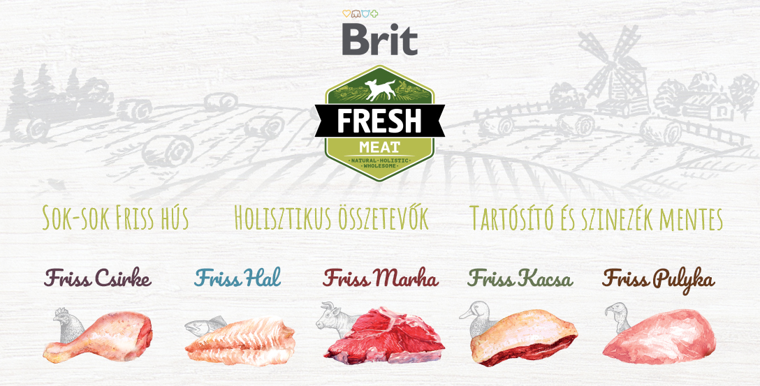Brit Fresh kutyatápok