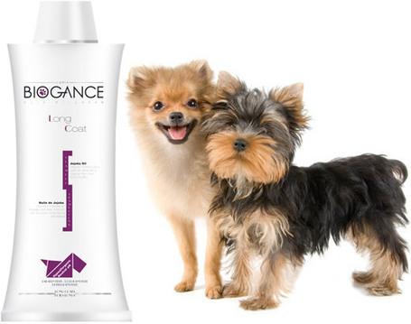 Biogance Long Coat shampoo - Sampon hosszúszőrű kutyák és macskák fürdetéséhez