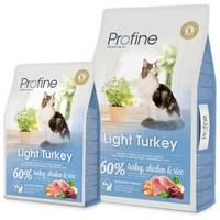 Profine Cat Light Turkey | Diétás macskatáp pulykahússal és csirkehússal