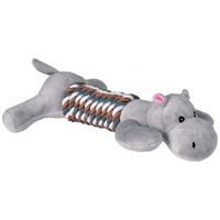 Trixie plüss állatfigura hosszú kötél törzzsel