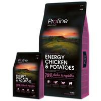 Profine Energy Chicken & Potatoes | Táp teljesítőképességű kutyáknak csirkével és burgonyával