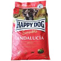 Happy Dog Andalucia kutyatáp ibériai sertéshússal és mediterrán zöldségmix-szel