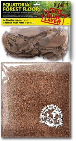 Exo Terra egyenlítői erdei talaj