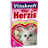 Vitakraft Vita-Herzis lecitines, gyógynövényes és biotinos tabletta macskának
