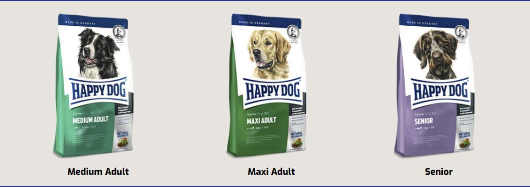 Happy Dog Fit & Well kutyatápok