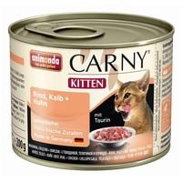 Animonda Carny Kitten marha-, borjú- és csirkehúsos konzerv