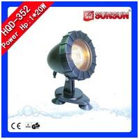 SunSun HQD-352 vízalatti spotlámpa kerti tóba