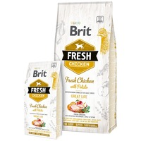 Brit Fresh Chicken with Potato Adult Great Life | Friss csirkehús burgonyával