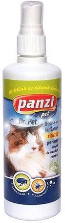 Panzi Dr.Pet kullancs- és bolhariasztó spray macskáknak