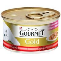 Gourmet Gold Duó marha- és csirkehússal