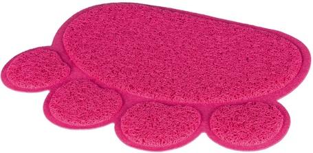 Trixie mancs formájú rózsaszín lábtörlő cica toaletthez