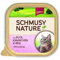Schmusy Nature alutálkás macskeledel pulyka- és nyúlhússal