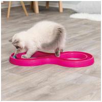 Trixie Flashing Ball Race - Kapd el a labdát macskajáték