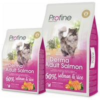 Profine Cat Derma Adult Salmon | Szőrzet és bőr ápoló felnőtt macskatáp