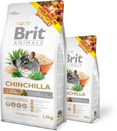 Brit Animals Chinchila Complete