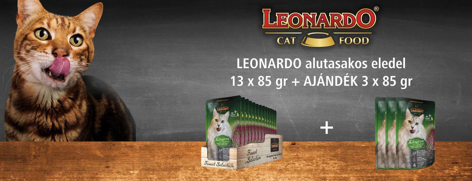 Leonardo alutasakos promó - 2021. május