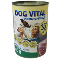 Dog Vital Rabbit & Heart konzerv