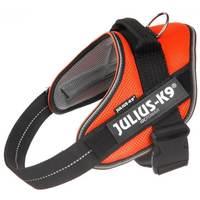 Julius-K9 IDC powAIR légáteresztő, szellőző, nyári hám kutyáknak narancs színben