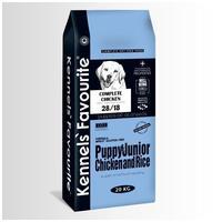 Kennels' Favourite Puppy & Junior Chicken & Rice   Táp kölyök és növendék kutyáknak csirkehússal és rizzsel