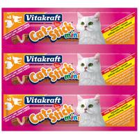 Vitakraft Cat-Stick Mini pulykás és bárányos jutalomfalat