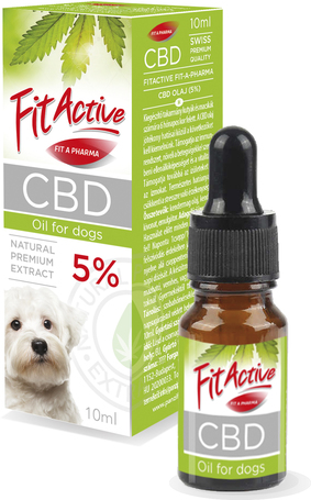 FitActive CBD olaj kutyáknak és macskáknak (5%-os)