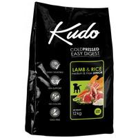 Kudo Junior Medium & Maxi Lamb & Rice Low Grain | Bárányhúsos táp közepes és nagytestű kölyökkutyáknak