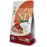 N&D Cat Grain Free Neutered fürjjel, sütőtökkel és gránátalmával