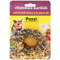 Panzi vitaminos karikák kistestű rágcsálóknak