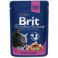 Brit Premium Cat with Salmon & Trout