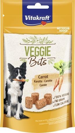 Vitakraft Veggie Bits Karotte - Húsmentes jutalomfalat kutyáknak répával