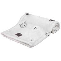Trixie Mimi macskamintás takaró világosszürke színben