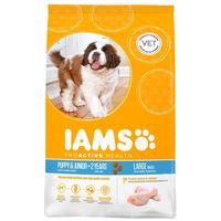 IAMS Dog Puppy & Junior Large Chicken